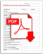 Blank questionnaire icon
