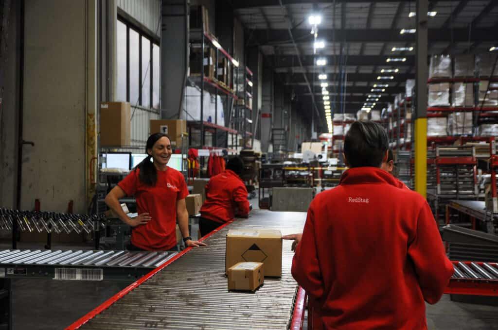fulfillment center vs. distribution center