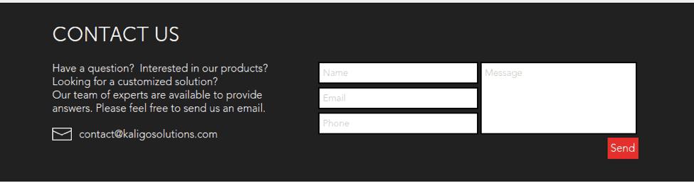 Helpdesk customer support example