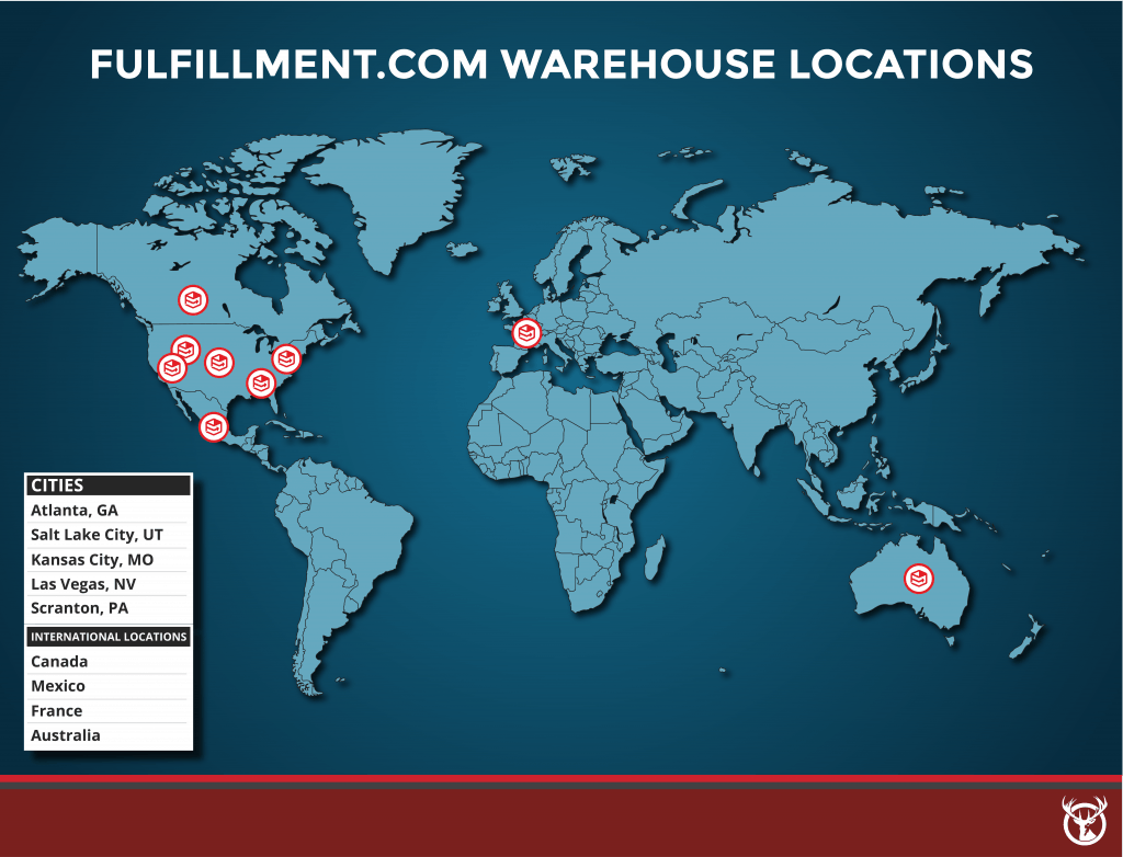Fulfillment.com fulfillment warehouse locations