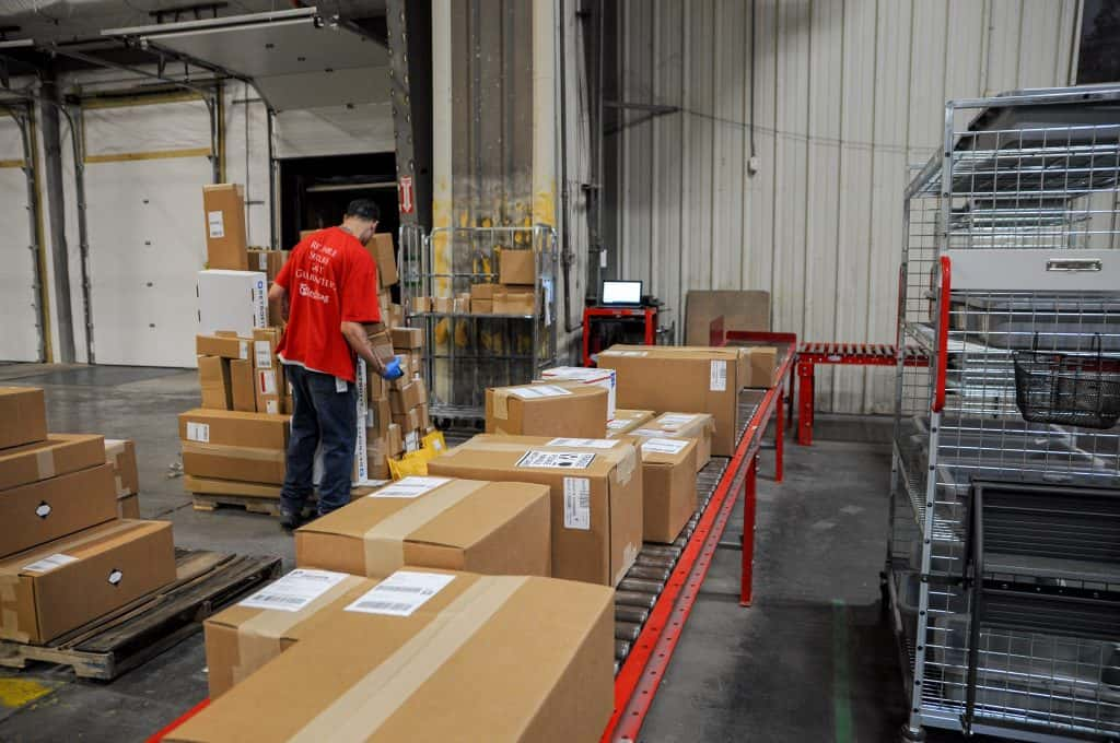 fulfillment warehouse