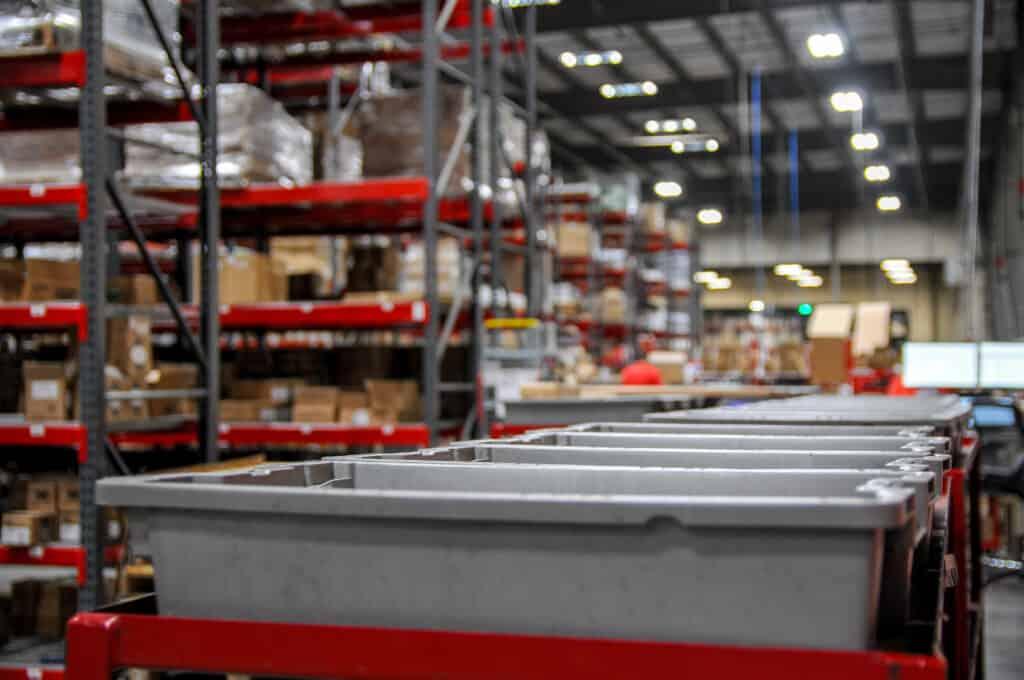 Reverse logistics warehouse