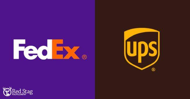 FedEx UPS logos