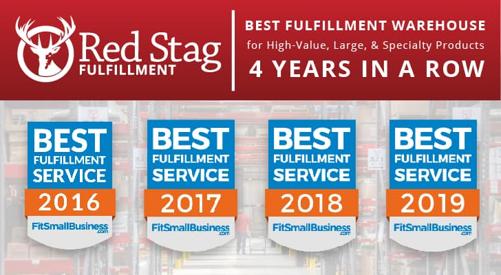 Red Stag Best fulfillment service awards