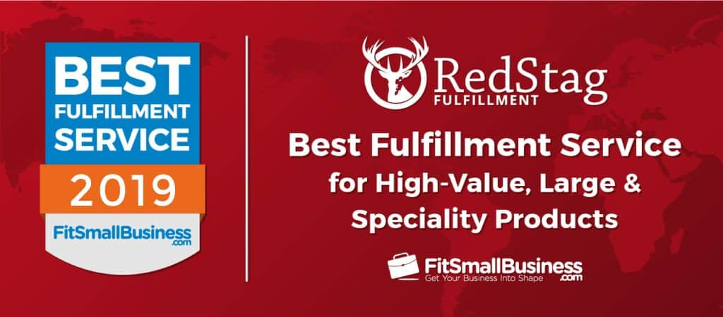 FitSmallBusiness Best Fulfillment Services Award for Red Stag 2019