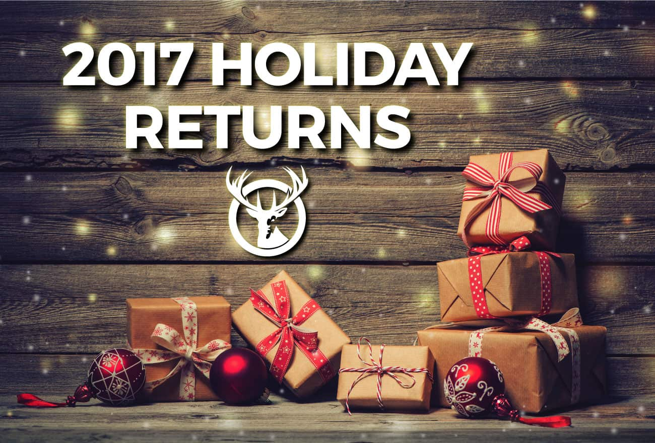 holiday return stats
