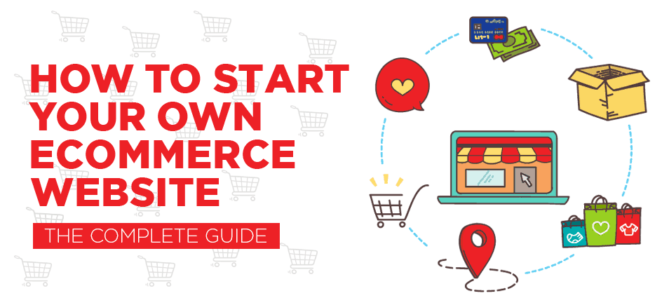How to start your own ecommerce website cover red stag Start my own website