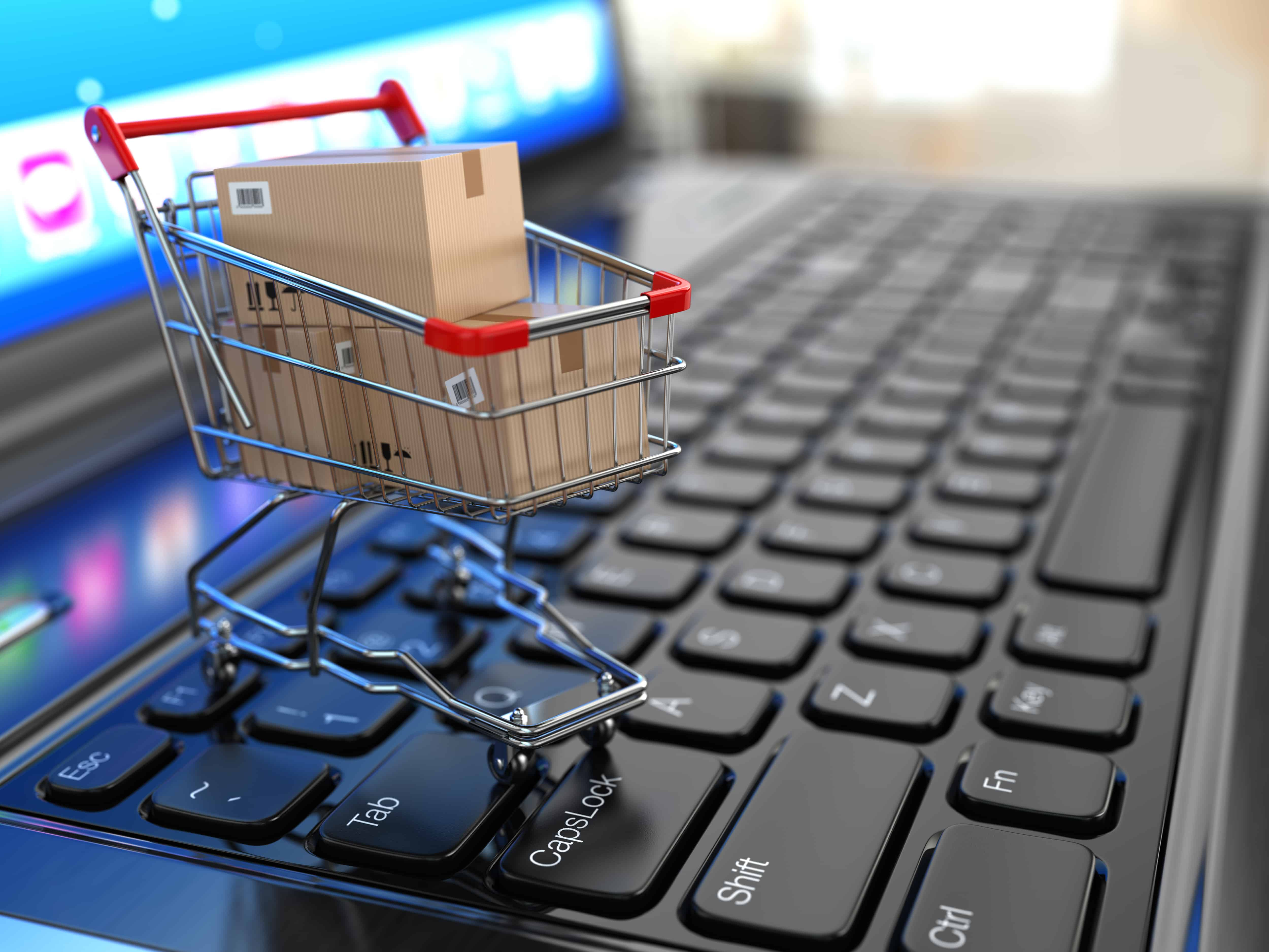 eCommerce shopping cart customer checkout