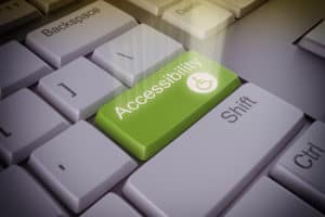 Website accessibility disabilities