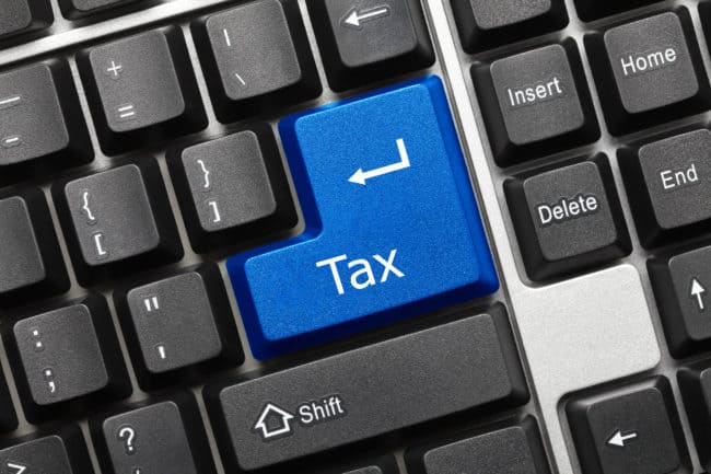 eCommerce business sales tax filing