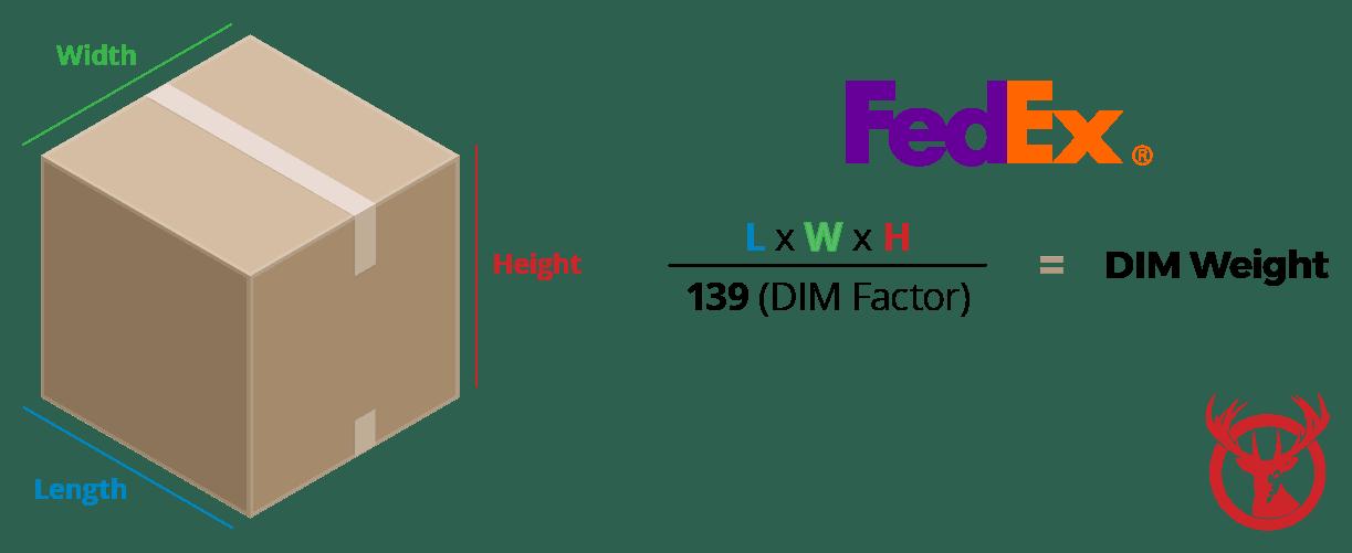 FedEx DIM Weight